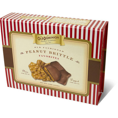 Old Dominion Peanut Company Old Fashioned Peanut Brittle Favorites, 16 oz