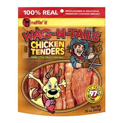 Ruffin It Ruffin' It Wag-N-Tails 20-oz. Chicken Tenders Dog Treats