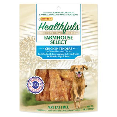 Westminster Pet Products Healthfuls Chicken Tenders 4oz-W/Glucosamine & Chondroitin