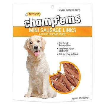 Ruffin It Ruffin' It Chomp'ems 11-Ounce Mini Sausage Link Dog Treats