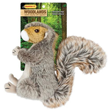 Westminster Pet Products Woodlands Large Plush Squirrel Dog Toy