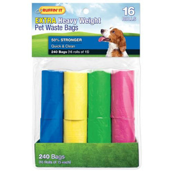 Westminster Pet Products Color Waste Bag Refills 16/Pkg-4 Colors