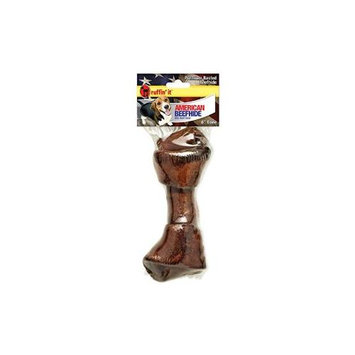 Westminster Pet Products American Beefhide 67in Beef Basted Flat Knot Bone 1/Pkg