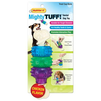 Westminster Pet Products Mighty Tuff Treat Cup Bone Dog Toy