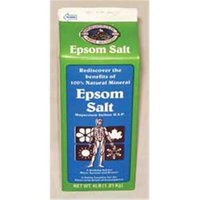 Qualchem Corp Epsom Salt 4 Pound Pack Of 6 - 6468-4