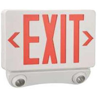 Preferred Industries 673066 Combination Led Exit And Emergency Light