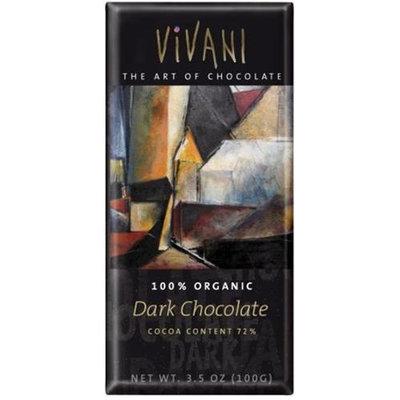 Vivani Dark Chocolate Bar 3. 5 Oz -Pack of 10