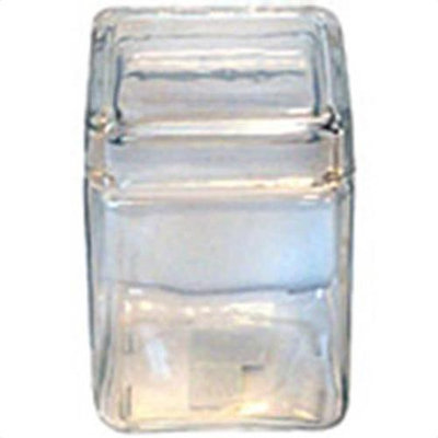 Anchor Hocking 1.5 Quart Square Clear Glass Storage Jar(Case of 4)