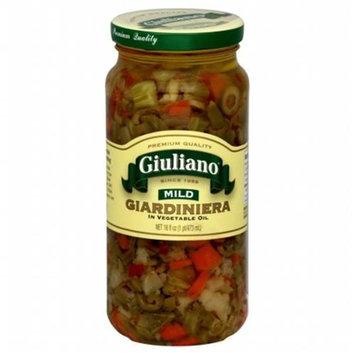 Kehe Distributors GIULIANO 39606 GIULIANO GIARDINIERA MILD IN OIL - Pack of 6 - 16 OZ