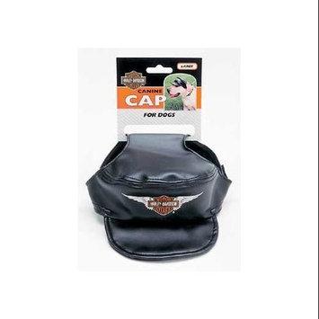 Coastal Pet Products Coastal safari harley canine cap black large