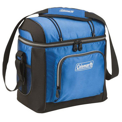 Coleman 16 Can Cooler with Removable Liner - Gray