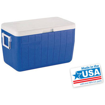 Coleman 48 Quart Cooler with Hinged Lid