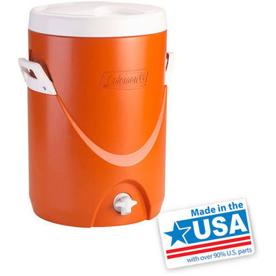 Coleman 3000000733 5 Gallon Beverage Cooler - Orange