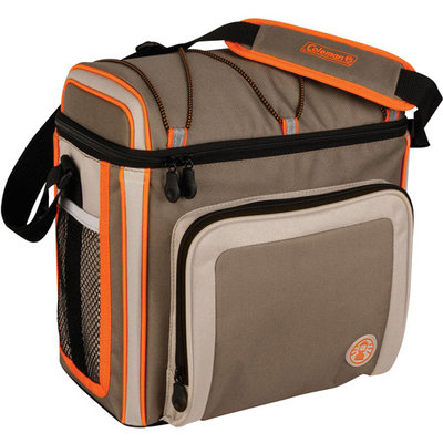 Coleman 30 Can Soft Cooler Outdoor With Liner Tan