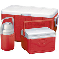 Coleman 48-Quart Cooler Combo (Red)