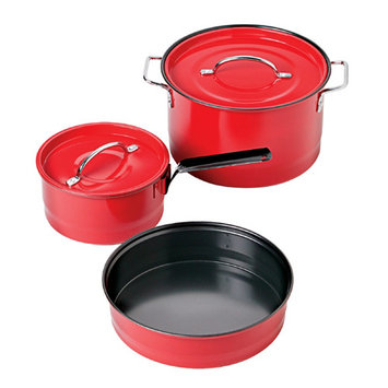 Coleman Family Cook Set - Red