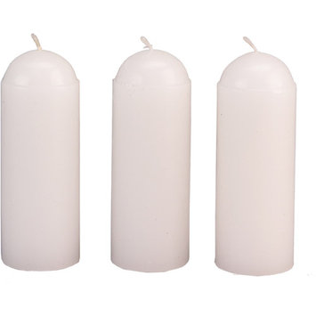 Coleman White 9-hour Candles (Pack of 3)