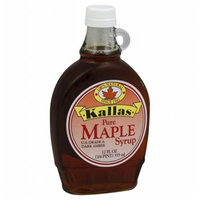 Kallas Kallas Pure Maple Syrup 12 Oz Pack Of 12