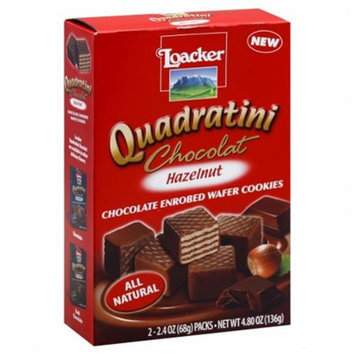 Loacker Wafer Qudrtni Hzlnt Choc -Pack of 8