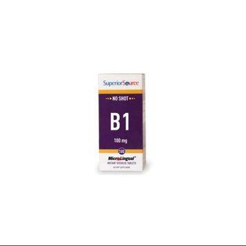 Vitamin B1 100 mg, 100 Instant Dissolve Tablets, Superior Source