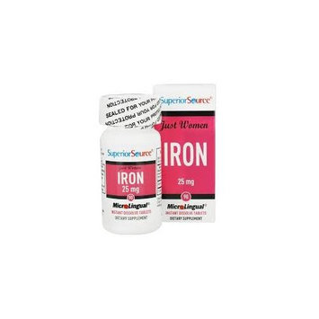 Superior Source Just Women Iron - 25 mg - 90 MicroLingual Tablets
