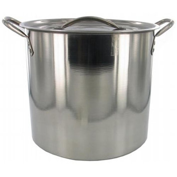 Bradshaw International Bradshaw 6180 8 Quart Stainless Steel Stock Pot With Lid