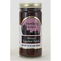 Bombay Brand 92 Eggplant Relish/Pickle Case of 6 - 10 oz. Jars