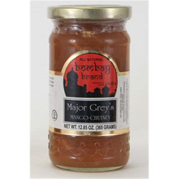 Bombay Brand 206 Major Grey Chutney Case of 6 - 12oz. Jars