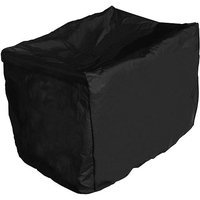 Mr. Bar-B-Q Black Polyester Side Table (Square) Cover 173121