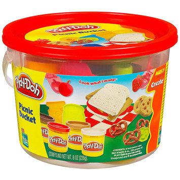 Hasbro Play-Doh Mini Fun with Beach Creation Bucket
