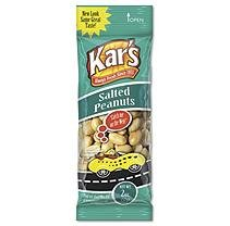 Advantus SN08388 Nuts Caddy Salted Peanuts 2 oz Packets 24 Packets/Caddy