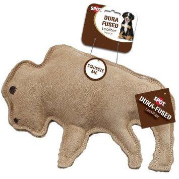 Ethical Products Inc Spot Ethical Dura-Fused Leather Buffalo Large Dog Toy