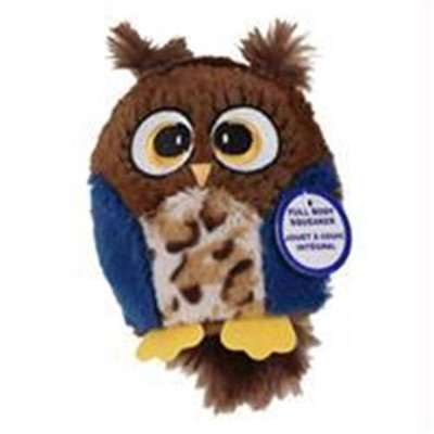 Ethical Pet Products Ethical Dog-Spot Hoots Owl Plush Squeaker Dog Toy- Assorted 4.75