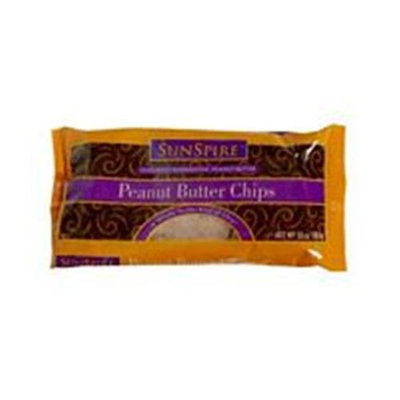 Sunspire Peanut Butter Baking Chips 10 Oz -Pack of 12