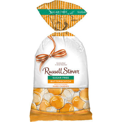 Russell Stover Sugar Free Butterscotch Hard Candies, 12 oz