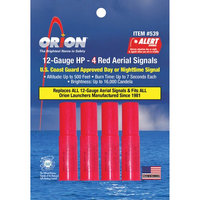 Orion 12-Gauge HP Red Aerial Flares
