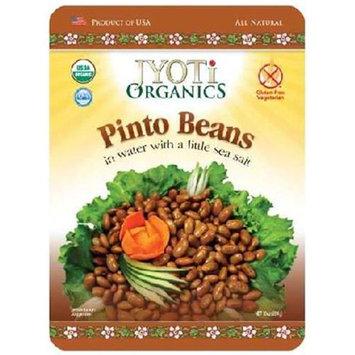 Jyoti Organics BG14697 Jyoti Organics Pinto Beans - 6x10OZ