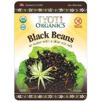 Jyoti Organics BG14699 Jyoti Organics Black Beans - 6x10OZ