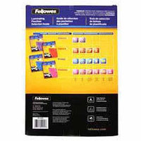 Fellowes Laminating Pouch, legal,5 Mil, pk 100 52045 30d517