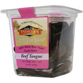 Nadolny Pet Products 77627602061 Evangeres 100 percent Whole Meat Beef Tongue 4.6 oz