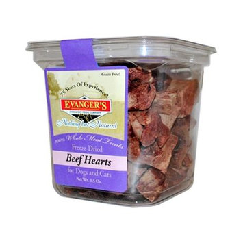 Nadolny Pet Products 77627612053 Evangeres 100 percent Whole Meat Beef Heart 4.6 oz