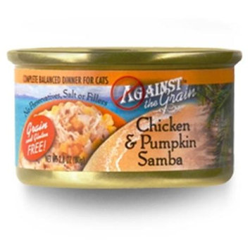 Phillips Feed & Pet Supply Against the Grain Chicken and Pumpkin Samba Canned Cat Food