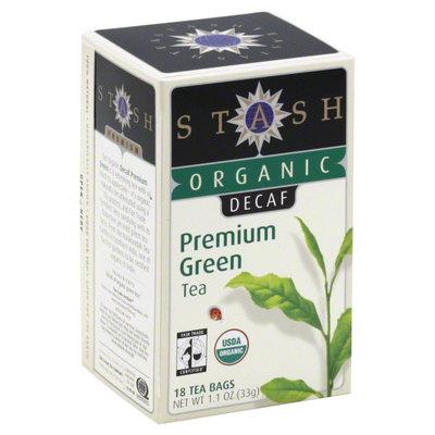 Stash Tea - Premium Organic Decaf Green Tea - 18 Tea Bags