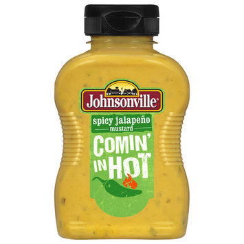 Johnsonville Spicy Jalapeno Mustard, 9.75 oz