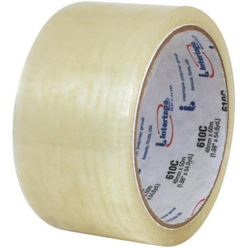 Intertape 91390 Clear Tape, 610C 2 inches x 55 yards