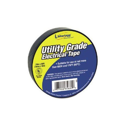 Intertape 602 Utility Grade Vinyl Electrical Tape