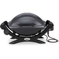 Weber Grills Q 1400 Portable Electric Grill Gray