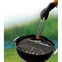 Weber Grilling Accessories. Plated-Steel Hinged Cooking Grate