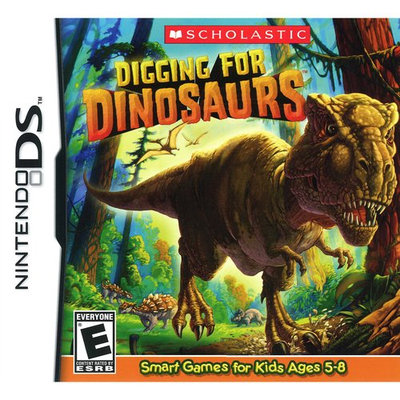 NinDS - Digging for Dinosaurs - By Scholastic Games
