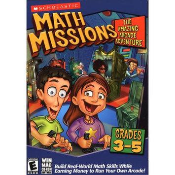 Nova Math Missions, The Amazing Arcade Adventure, Grades 3-5, For PC/Mac, Traditional Disc